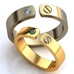15e5535d7372 Обручальные кольца в СПб, купить кольца на свадьбу недорого. Цена на ...