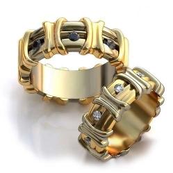 838924bef116 Золотой Дом» - Обручальные кольца