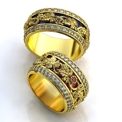 Оригинальные обручальные кольца спб