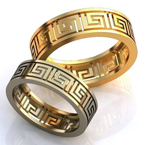Кольца обручальные версаче