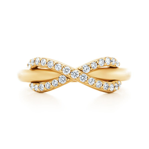 Кольцо с бриллиантами Бесконечность CC-511 17844b715f3ae